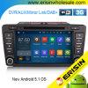 Carro DVD GPS DAB+ Android 5.1 de Erisin Es3026s 8 do  para Skoda Octavia