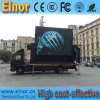 P10屋外広告の調節可能な持ち上がる移動式トラックのLED表示