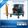 Divisor concreto hidráulico para o uso dentro apertado e duramente o concreto