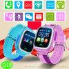 GPS van het Scherm van de Aanraking TFT het Slimme Horloge van de Drijver voor Kinderen (D15)