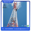 Torre de aço angular de uma comunicação da antena do telefone de pilha