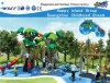 Campo de jogos ao ar livre Hf-10802 das crianças da caraterística verde da árvore