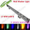 18PCS 3 dans 1 R/G/B/V+, lumière d'inondation colorée d'horizontal de rondelle de mur de 4 fils DEL