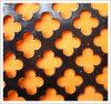 Los paneles perforados decorativos del metal de hoja