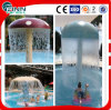 Cogumelo Umbrella Shape Waterfall Impact para a piscina