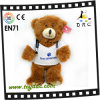 Peluche Bear do luxuoso com t-shirt Toy