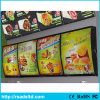 Fast Food Acrylic Menu Display Publicité LED Light Box