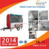 CE Certification Good Sale Mobile Vending Trailer con Wheels