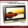 Headrest DVD de 9  HD com tela de toque (HP-3001)