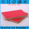 High Density Wood Fiber One Side Melamine MDF Board