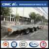 Tri-assen Cimc de Semi Aanhangwagen van Lowbed van het uit:breiden-Platform Huajun