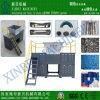 Quatro Shaft Shredder para Plastic/Rubber/Wood