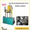 Hoja de metal que crea la prensa hidráulica del gráfico rápido