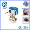 Elektrischer Antrieb Ventil 2-Wege Messing Motorventil für Fan Coil (BS-818-20)
