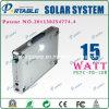 système de d'éclairage portatif d'énergie de l'énergie 15W solaire (PETC-15W)
