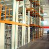 Mezzanine rack de piso con cuba de almacenamiento