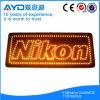 Retângulo de Hidly o sinal do diodo emissor de luz de Europa Nikon