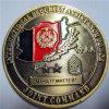 鋳造の旧式な金の機密保護の援助力の硬貨