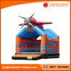 Aufblasbarer flacher springender Schloss-Schlag des neuen Entwurfs-2017 (T1-009)