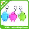 Thressは受皿の人のゴム製Keychain Keychains Mic OEMを着色する