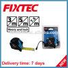 Лента метрических ABS 5m ручных резцов Fixtec стальная и дюйма измеряя