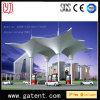Garantía de acero 10years de la cubierta Q235 de la estación de servicio PVDF