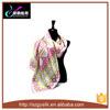 Señora de seda Neck Tie de la manera de la tela cruzada de la seda de la bufanda el 100%