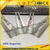 Aluminiumgefäß-Profil mit CNC-tiefer aufbereitender kundenspezifischer Größe