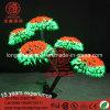 LED Bonsai 휴일 훈장을%s 옥외 나무 빛 버섯