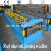PPGI Stahldach-Blatt-Rolle, die Maschine für Metallgewölbtes Dach-Panel bildet