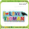 Recuerdo promocional modificado para requisitos particulares Tioman (RC-MY) de los imanes del refrigerador de Aimant de los regalos de la decoración