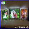 Double Afficheur LED mince en cristal latéral de cadre léger