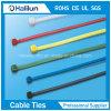 Bunte Nylonkabelbinder-Reißverschluss-Gleichheit