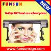 A melhor impressora solvente da bandeira do cabo flexível da impressora de Eco da cabeça de cópia