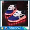 高品質はUSBの充電器が付いている有料LEDの靴をからかう