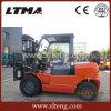 Un carrello elevatore meccanico da 4 tonnellate del Doppio-Combustibile cinese dei fornitori GPL