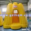 Bouncers adulti dei ponticelli della tela incatramata del PVC di 0.55mm/castello combinato fumetto gonfiabile