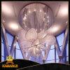 길들이십시오 디자인 호화스러운 꽃 모양 복도 프로젝트 수정같은 샹들리에 램프 (KA1027)를