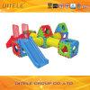 Het Lichaam dat van binnenJonge geitjes het Plastic Speelgoed van Blokken uitoefent (PT-024)