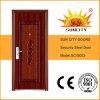 最新のインドの主要な盗難防止の鋼鉄ドア(SC-S003)
