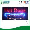Segno dell'interno del hot dog LED della scheda variopinta dello spuntino