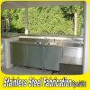 Gabinete de cozinha ao ar livre do aço inoxidável da alta qualidade do OEM