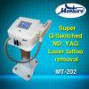 De Q Geschakelde Machine van de Letsels van de Tatoegering van de Laser van Nd YAG Verwijdering Met pigment gekleurde
