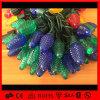 クリスマスの時間装飾のためのゴム製ケーブルC7 LEDストリングライト