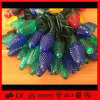 Christmas時間Decorationのためのゴム製Cable C7 LED String Light