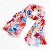 Kundenspezifischer bunter Silk Krepp-Georgette-X-Großer Strand-Kleid-Schal