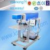 Machine de gravure en gros de laser de CO2 pour le caoutchouc, machine d'inscription de laser