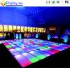Luz caliente Dance Floor del disco del RGB LED