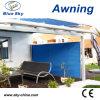 Garten-Sonnenschutz-Aluminium-Polyester-einziehbare Bildschirm-Markise
