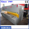 Máquina de corte mecânica, máquina de corte hidráulica (QC12Y 6 x 3200)